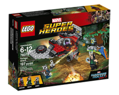Image of product Lego - Lego Marvel Super Heroes Ravager Attack, 1 unit