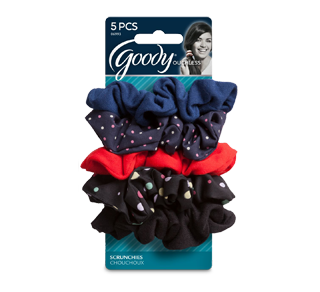 Ouchless Scrunchies Polka Dots, 1 set