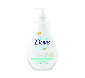 Tip to Toe Wash Sensitive Moisture, 591 ml