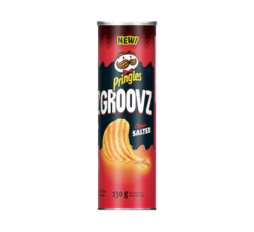 Groovz Potato Chips, 130 g, Classic