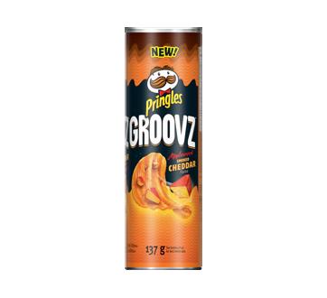 Groovz Potato Chips, 137 g, Cheddar