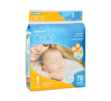 Baby Diapers, 78 units