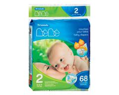 Image of product Personnelle Bébé - Baby Diapers, 68 units