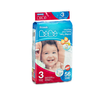 Image of product Personnelle Bébé - Baby Diapers, 56 units