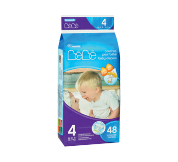 Baby Diapers, 48 units