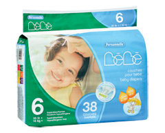 Image of product Personnelle - Baby Diapers, 38 diapers