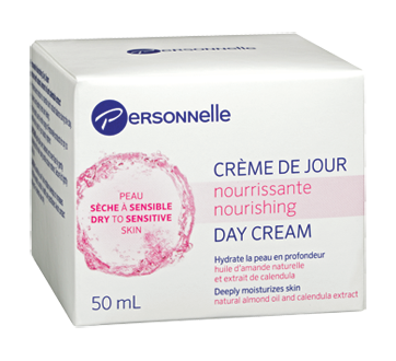 Image of product Personnelle Beauty - Nourishing Day Cream, 50 ml, Dry to Sensitive Skin