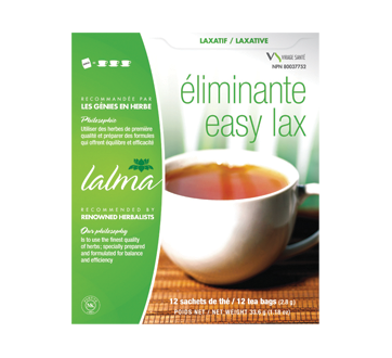 Image of product Virage Santé - Herbal Tea Easy Lax, 12 units