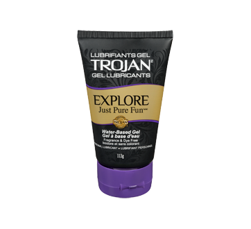 Image of product Trojan - Explore Just Pure Fun Personal Gel Lubricant, 113 g