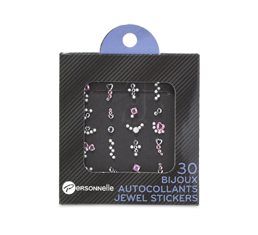 Jewel Stickers for Nails, 30 units