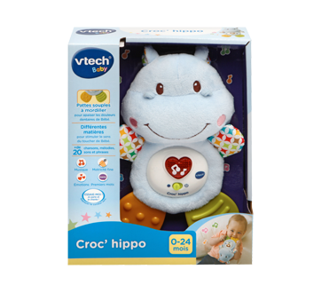 Lil' Critters Huggable Hippo Teether, French Version
