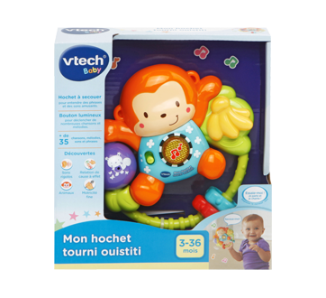 Lil' Critters Singin' Monkey Rattle, French Version
