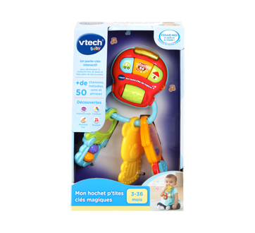 Image of product Vtech - Smart Sounds Baby Keys, French Version