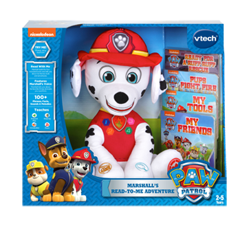Paw Patrol Marshall's Read-to-me Adventure, English Version