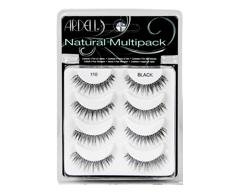 Image of product Ardell - Natural Eyelashes, 4 pairs, #110 - Black