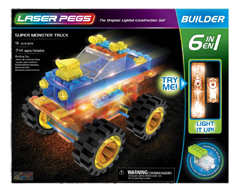 laser pegs spider set how to build the scorpion