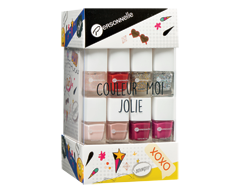 Image of product Personnelle Cosmetics - Couleur-Moi Jolie Nail Polish Set, 14 x 7 ml