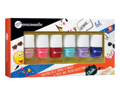 Image of product Personnelle Cosmetics - Nail Polish Set, 6 x 7 ml
