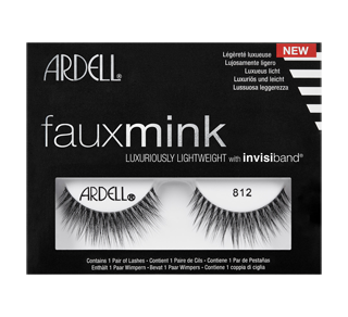 Faux Mink False Lashes, 1 unit, 812