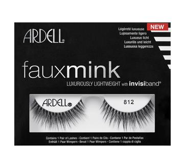 Faux Mink False Lashes, 1 unit, 812