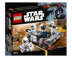 Image of product Lego - Lego Star Wars First Ordre Transport Speeder Battle, 1 unit