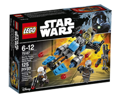 Image of product Lego - Lego Star Wars Bounty Hunter Speeder Bike Battle, 1 unit