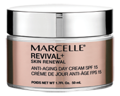 Image of product Marcelle - Revival+ Skin Renewal Anti-Aging Day Cream SPF 15, 50 ml