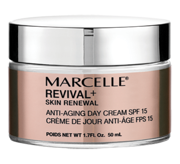Revival+ Skin Renewal Anti-Aging Day Cream SPF 15, 50 ml
