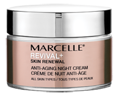 Image of product Marcelle - Revival+ Skin Renewal Anti-Aging Night Cream, 50 ml