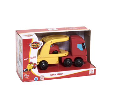Motortown Iveco Toy Truck and One Car, 1 unit