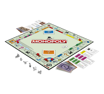Image 2 of product Hasbro - Monopoly Classic Game, 1 unit
