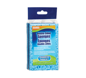 Double-Sided Sponges, 2 units