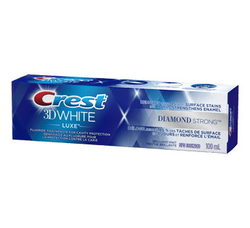 Image 1 of product Crest - 3D White Luxe Diamond Strong Toothpaste, 100 ml
