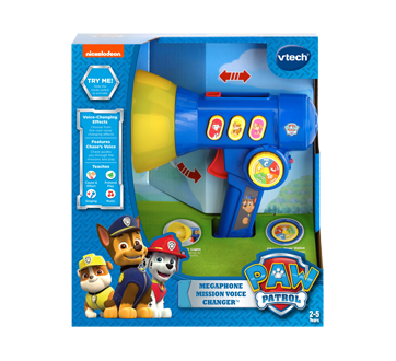 Paw Patrol Megaphone Mission Voice Changer, English Version