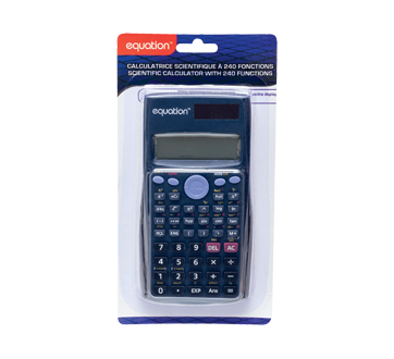 Scientific Calculator with 240 Functions, 1 unit