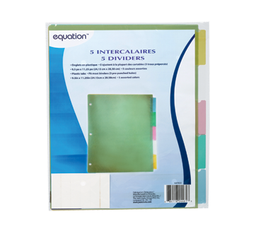 Image 1 of product Equation - Dividers, 5 units