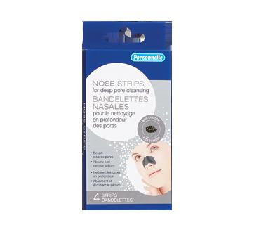 Charcoal Nose Pore Strips, 4 units