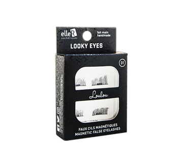 Looky Eyes Magnetic False Eyelashes, 1 unit, #01 Loulou