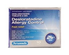 Image of product Personnelle - Desloratadine Allergy Control, 10 units