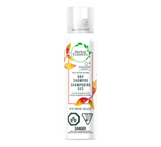 Daily Detox Volume Dry Shampoo, 140 g, Crimson Orange & Mint