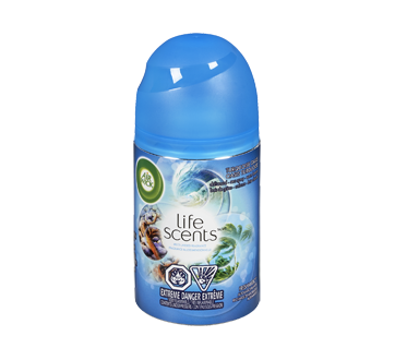Life Scents Freshmatic Spray Refill, 180 g, Turquoise Oasis