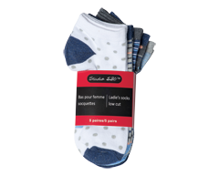 Image of product Studio 530 - Ladie's Socks Low Cut , 5 units