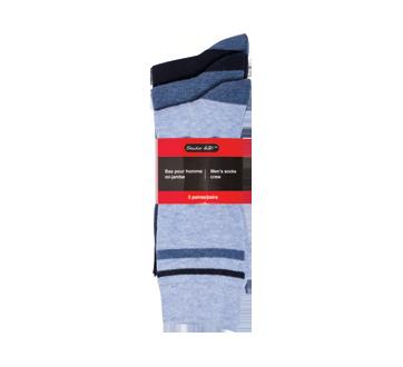 Men's Socks Crew, 3 pairs