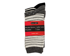 Image of product Studio 530 - Ladie's Socks Crew, 3 pairs