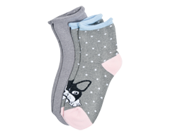 Image of product Studio 530 - Ladies' Socks Crew, 2 pairs