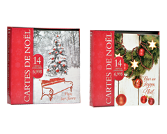 Image of product Greeting Cards - Holidays Greeting Cards, 14 units