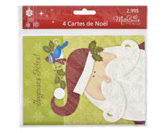 Image of product Greeting Cards - Holidays Greeting Cards, 4 units