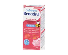 Image of product Benadryl - Children's Benadryl Liquid, 250 ml