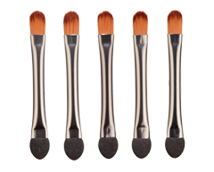 Image of product Personnelle Cosmetics - Duo Applicator Brushes, 5 units