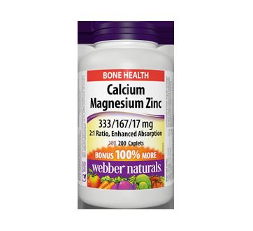 Image of product Webber - Calcium Magnesium Zinc, 200 units